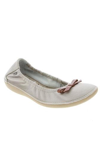 tbs chaussures fille de couleur beige