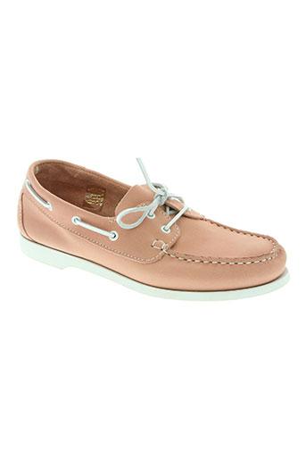 tbs chaussures femme de couleur rose