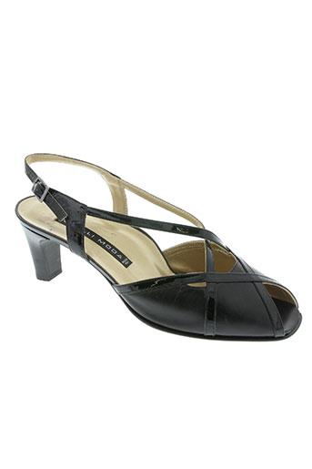 vitulli moda chaussures femme de couleur noir
