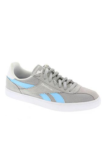 reebok chaussures garçon de couleur gris