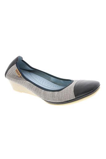 pikolinos chaussures femme de couleur bleu