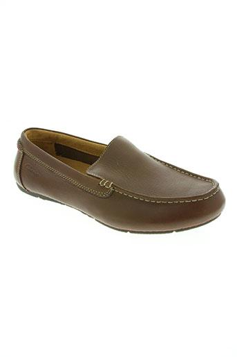 clarks chaussures homme de couleur marron