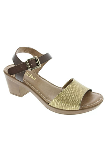 paula urban chaussures femme de couleur marron