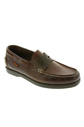 arcus chaussures homme de couleur marron