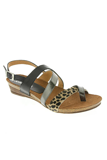 xapatan chaussures femme de couleur gris