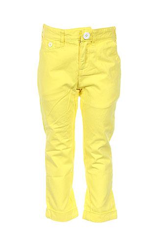 billybandit pantalons garçon de couleur jaune