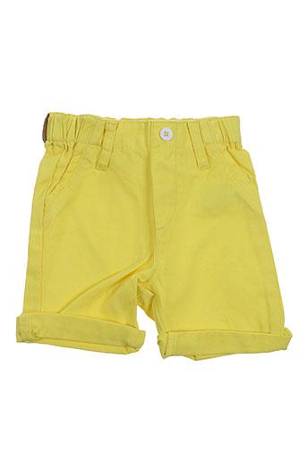 billybandit shorts / bermudas garçon de couleur jaune