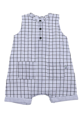 Combishort blanc ABSORBA pour fille
