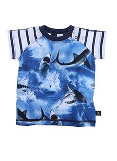 T-shirt manches courtes bleu MOLO pour garçon