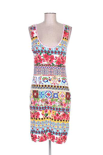 desigual robes femme de couleur rouge adc61a586737