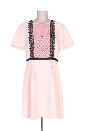 morgan robes femme de couleur rose