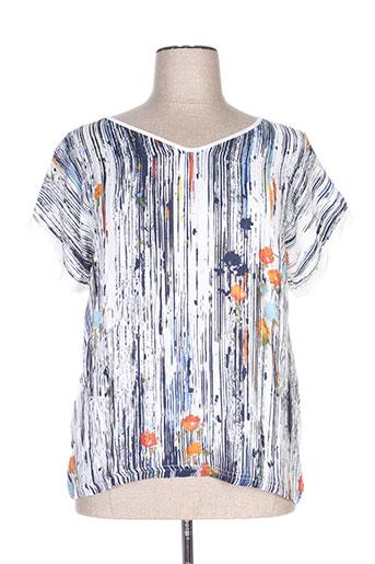 zeli chemises femme de couleur bleu