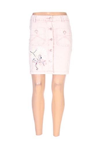 desigual jupes femme de couleur rose