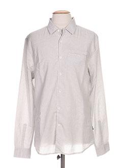 Chemise manches longues gris TIFFOSI pour homme