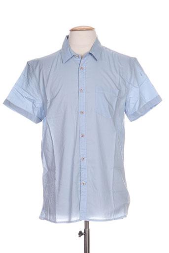 tiffosi chemises homme de couleur bleu