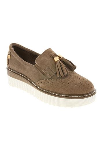carmela chaussures femme de couleur marron