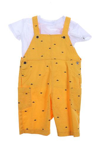 absorba combinaisons garçon de couleur jaune