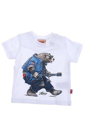 levis t-shirts garçon de couleur blanc