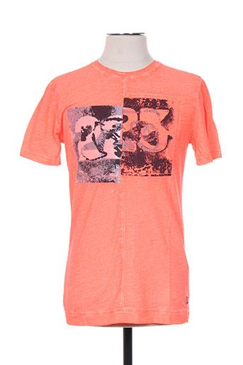 garcia t-shirts garçon de couleur orange