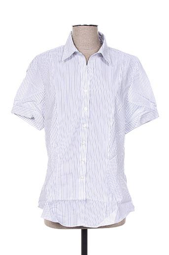 brook taverner chemises femme de couleur blanc