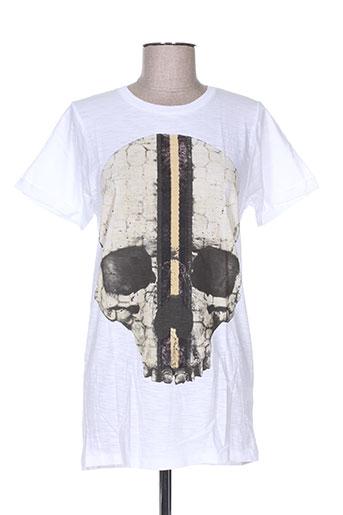 my t-shirt life is a circus t-shirts femme de couleur blanc
