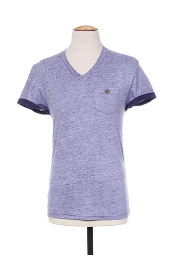 relay jeans t-shirts femme de couleur violet