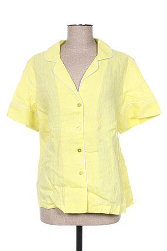 Veste chic / Blazer jaune ADOLFO DOMINGUEZ pour femme