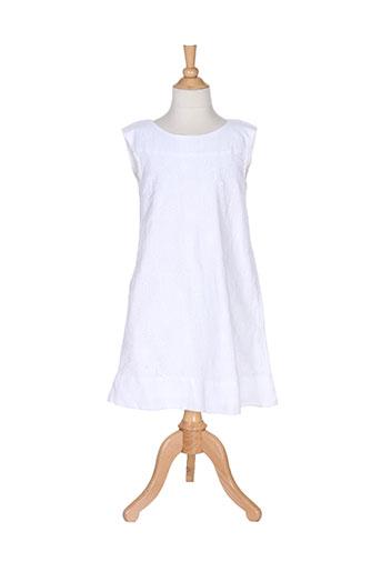 mayoral robes fille de couleur blanc