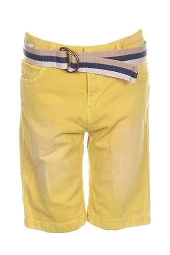mayoral shorts / bermudas garçon de couleur jaune