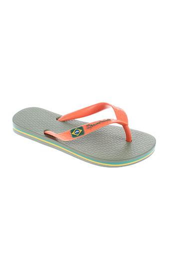 ipanema chaussures garçon de couleur orange