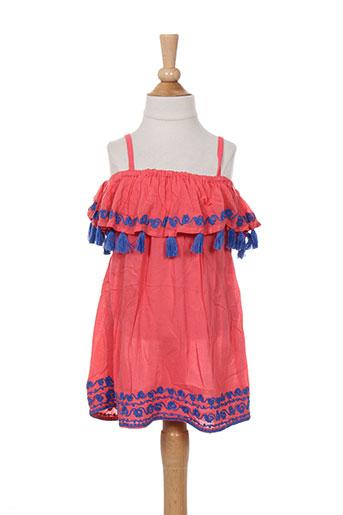 kiwi chemises fille de couleur rouge