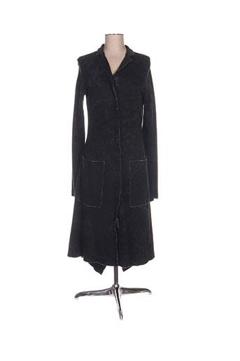black label manteaux femme de couleur noir