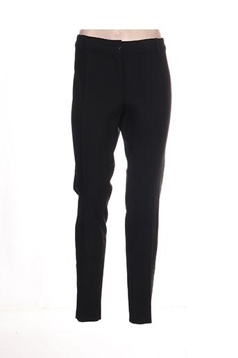 Pantalon casual noir ISABEL DE PEDRO pour femme