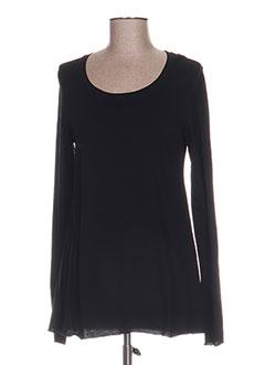 Produit-T-shirts-Femme-BLACK LABEL