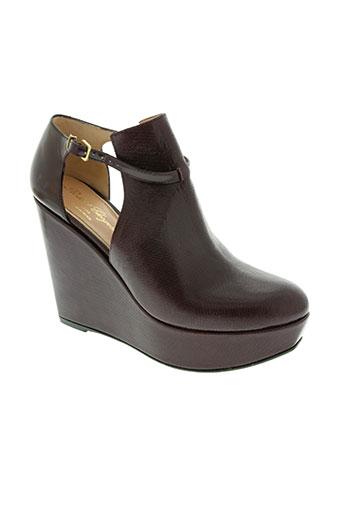 robert clergerie chaussures femme de couleur violet