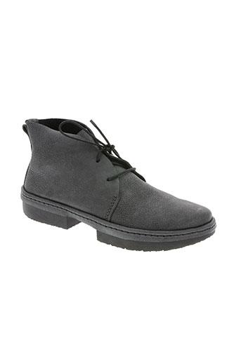 trippen chaussures femme de couleur gris