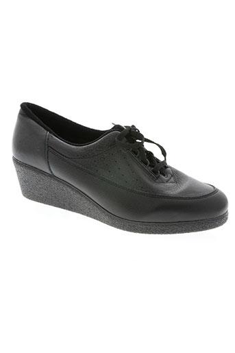 noël chaussures femme de couleur noir