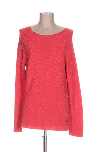 le boudoir d'edouard pulls femme de couleur rouge