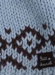 Bonnet bleu MARCEL ET LEON pour garçon seconde vue