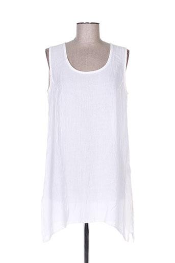 bohéme tuniques femme de couleur blanc