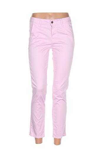 kanope pantacourts femme de couleur rose