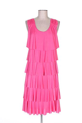 lonkel robes femme de couleur rose