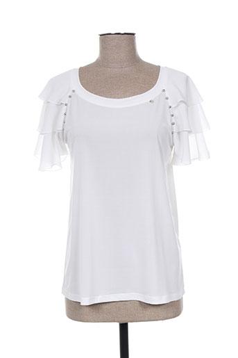daniela cool chemises femme de couleur blanc