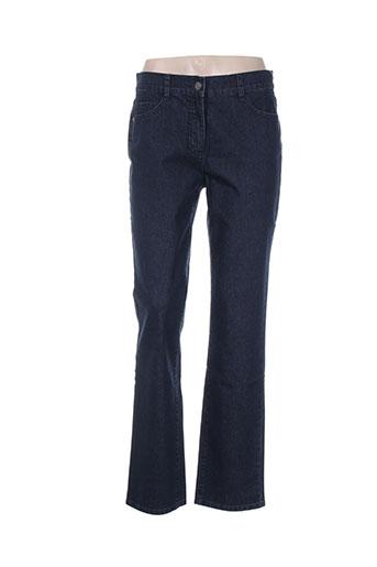 lebek jeans femme de couleur bleu