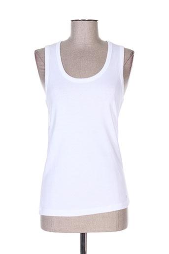 escada t-shirts femme de couleur blanc