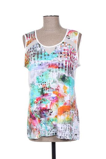 felino t-shirts femme de couleur blanc
