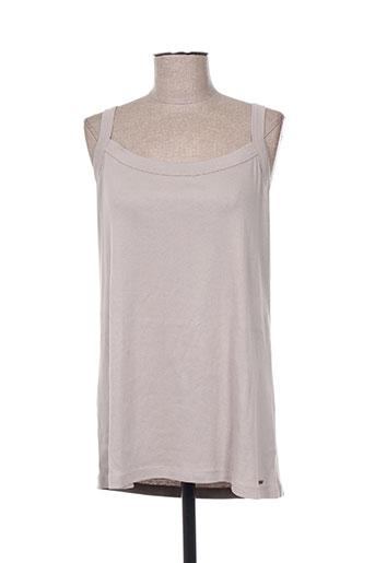 felino t-shirts femme de couleur gris