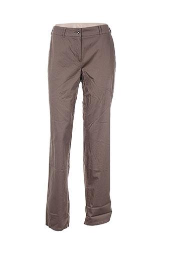 steilmann pantalons femme de couleur marron