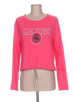 Produit-T-shirts-Femme-DOROTENNIS