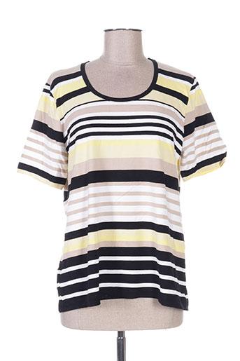 gelco t-shirts femme de couleur jaune